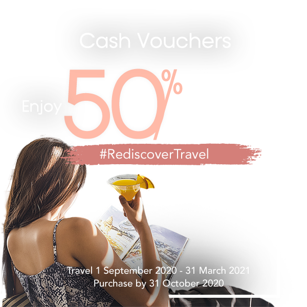 Cash Vouchers for 50% Bonus Value